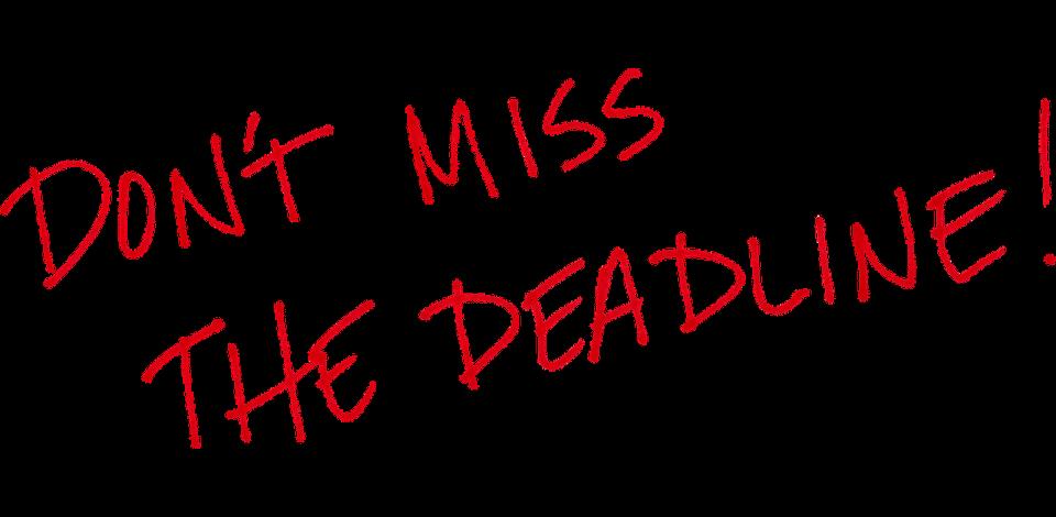 Image result for deadline